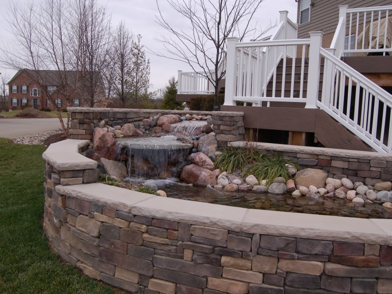 Waterfall Hardscape