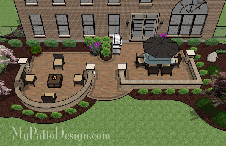 Large Extended Patio Tinkerturf