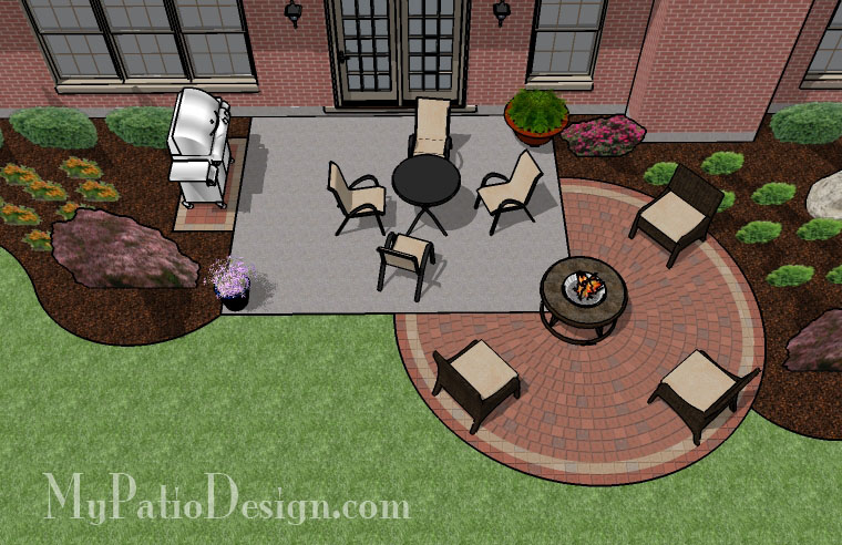 Simple Patio Extension. $2,630