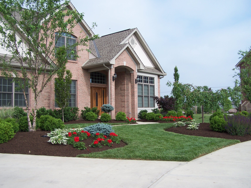 Front Yard Flower Beds