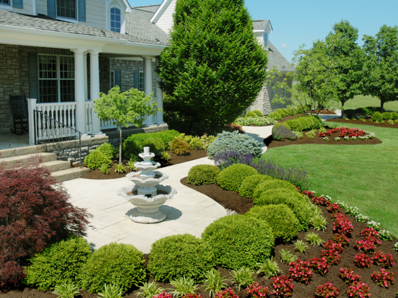 Wonderful Front Yard Landscape